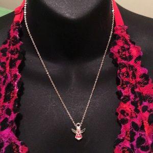Avon birthstone necklace